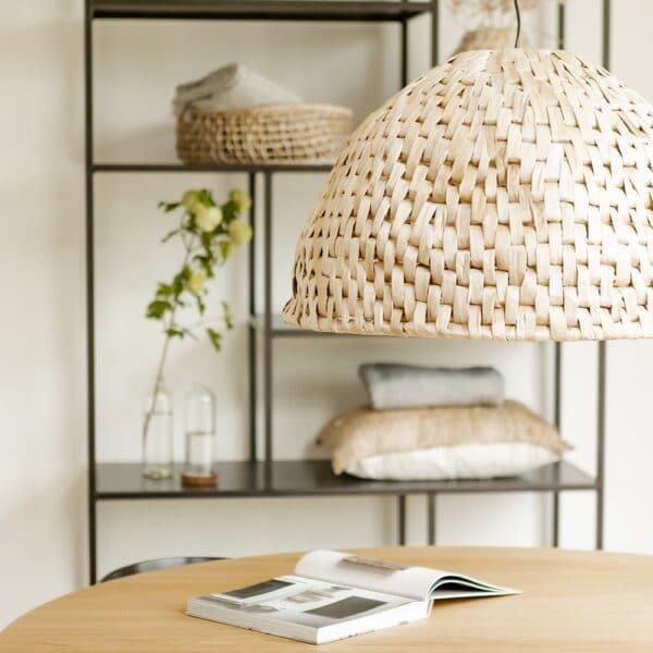 abaca bocca pendant lampshade natural