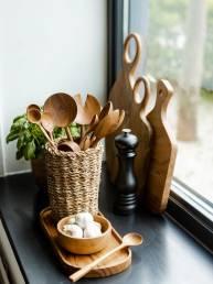 teak root kitchenware